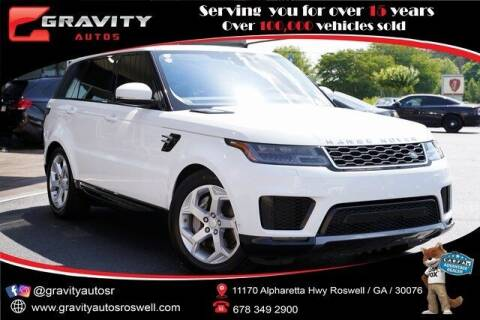 2018 Land Rover Range Rover Sport for sale at Gravity Autos Roswell in Roswell GA
