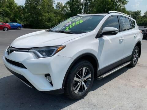 2016 Toyota RAV4 for sale at FREDDY'S BIG LOT in Delaware OH