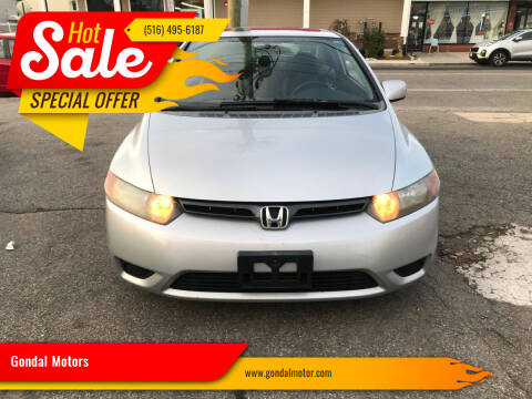 2008 Honda Civic for sale at Gondal Motors in West Hempstead NY