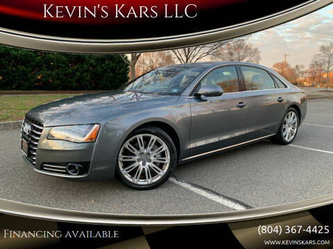 2014 Audi A8 L for sale at Kevin's Kars LLC in Richmond VA