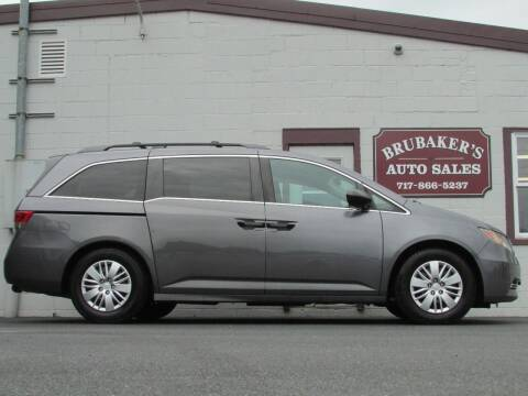 2015 Honda Odyssey for sale at Brubakers Auto Sales in Myerstown PA