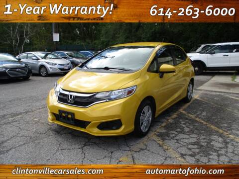 2018 Honda Fit for sale at Clintonville Car Sales - AutoMart of Ohio in Columbus OH