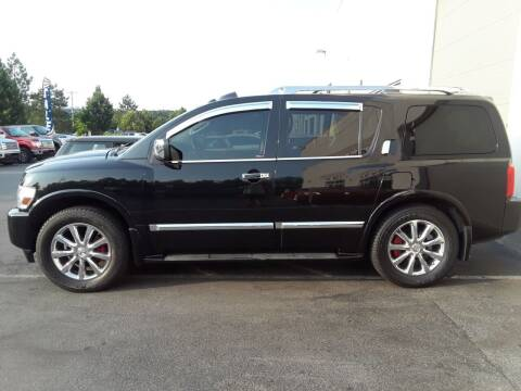 2008 Infiniti QX56 for sale at M & M Auto Brokers in Chantilly VA