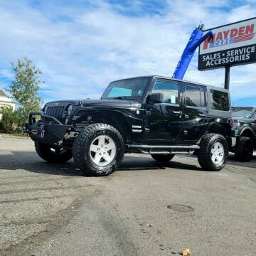 2014 Jeep Wrangler Unlimited for sale at Hayden Cars in Coeur D Alene ID