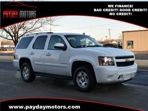 2008 Chevrolet Tahoe for sale at Payday Motors in Wichita And Topeka KS