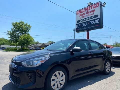 2018 Kia Rio for sale at Unlimited Auto Group in West Chester OH
