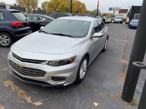 2017 Chevrolet Malibu for sale at Car Now LLC in Madison Heights MI
