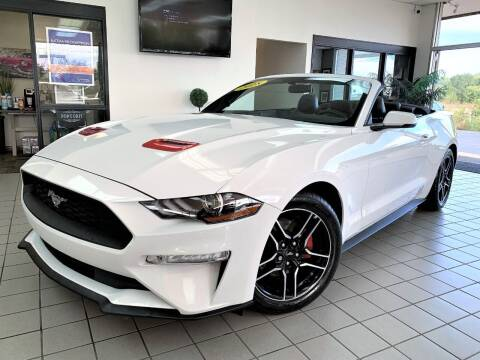 2018 Ford Mustang for sale at SAINT CHARLES MOTORCARS in Saint Charles IL