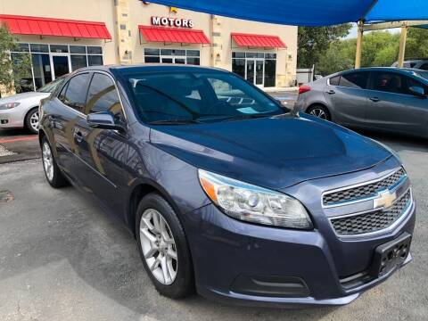 2013 Chevrolet Malibu for sale at Gold Star Motors Inc. in San Antonio TX