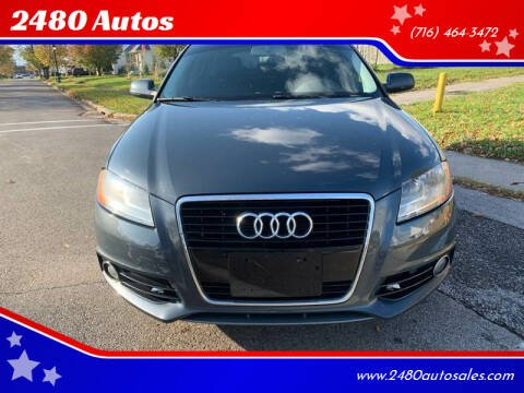 2011 Audi A3 for sale at 2480 Autos in Kenmore NY