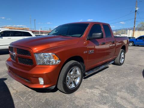 2013 RAM Ram Pickup 1500 for sale at Robert B Gibson Auto Sales INC in Albuquerque NM