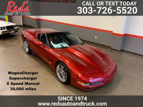 1999 Chevrolet Corvette for sale at Red's Auto and Truck in Longmont CO