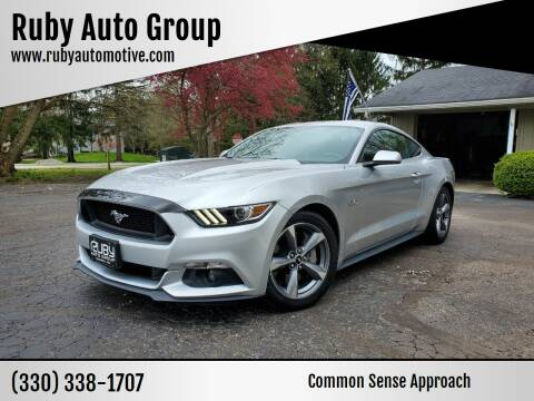 2016 Ford Mustang for sale at Ruby Auto Group in Hudson OH
