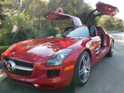 2011 Mercedes-Benz SLS AMG for sale at Milpas Motors in Santa Barbara CA