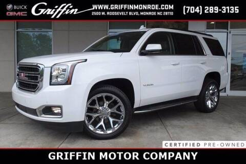 2020 GMC Yukon for sale at Griffin Buick GMC in Monroe NC