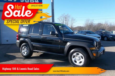 2007 Jeep Liberty for sale at Highway 100 & Loomis Road Sales in Franklin WI