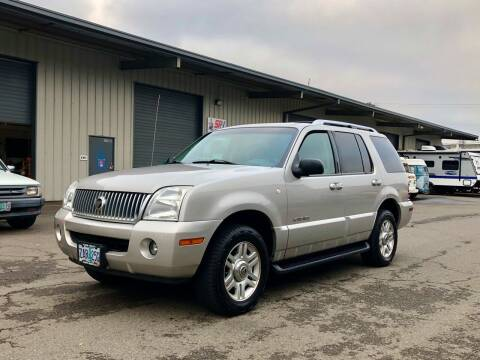 2002 Mercury Mountaineer for sale at DASH AUTO SALES LLC in Salem OR