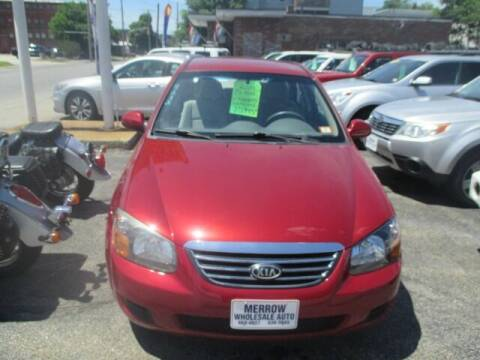 2009 Kia Spectra for sale at MERROW WHOLESALE AUTO in Manchester NH