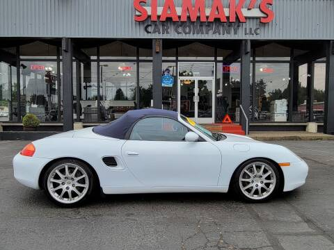 1999 Porsche Boxster for sale at Siamak's Car Company llc in Salem OR