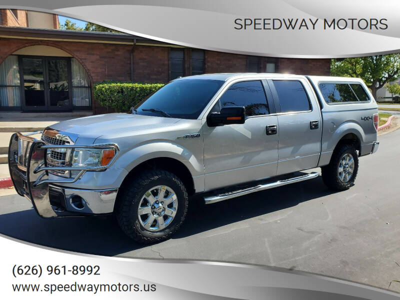 2013 Ford F-150 for sale at Speedway Motors in Glendora CA