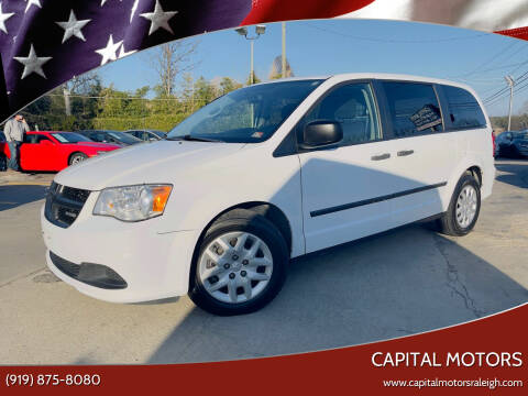 2015 RAM C/V for sale at Capital Motors in Raleigh NC