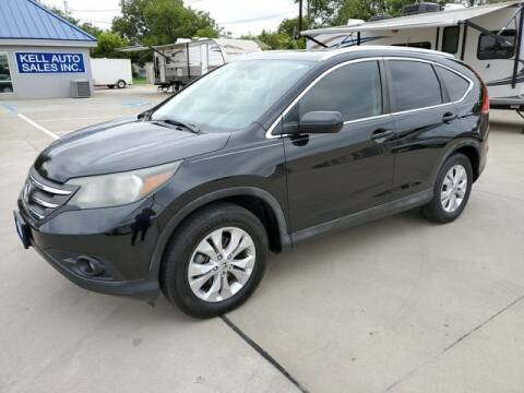 2012 Honda CR-V for sale at Kell Auto Sales, Inc - Grace Street in Wichita Falls TX