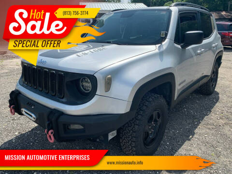 2016 Jeep Renegade for sale at MISSION AUTOMOTIVE ENTERPRISES in Plant City FL