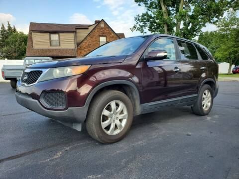2011 Kia Sorento for sale at Boardman Auto Exchange in Youngstown OH