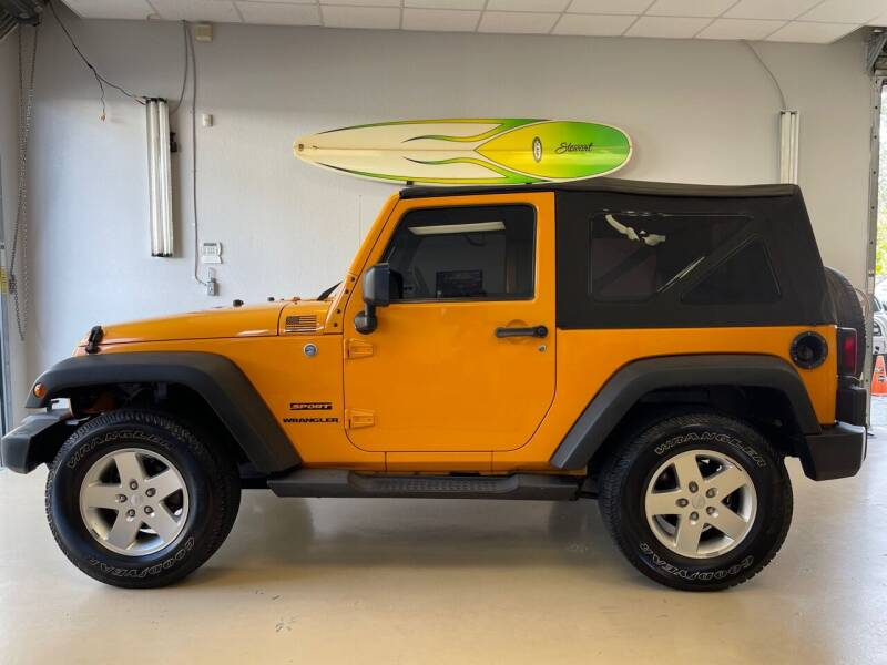 2012 Jeep Wrangler for sale at Jeep and Truck USA in Tampa FL