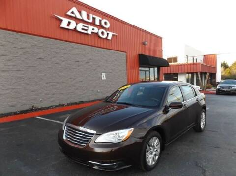 2013 Chrysler 200 for sale at Auto Depot of Madison in Madison TN