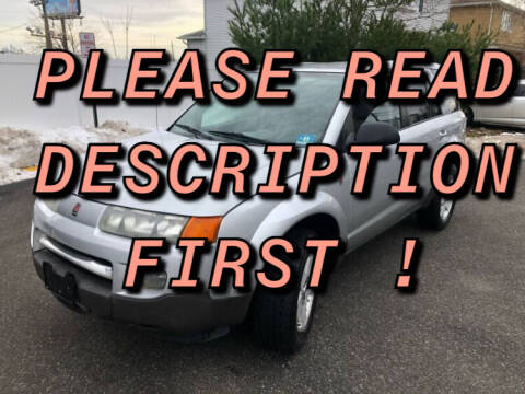 2004 Saturn Vue for sale at Giordano Auto Sales in Hasbrouck Heights NJ