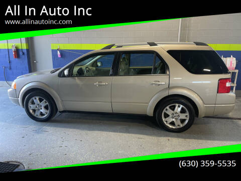 2005 Ford Freestyle for sale at All In Auto Inc in Addison IL