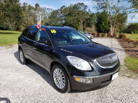 2010 Buick Enclave for sale at Darwin Harris Automotive in Fairhope AL