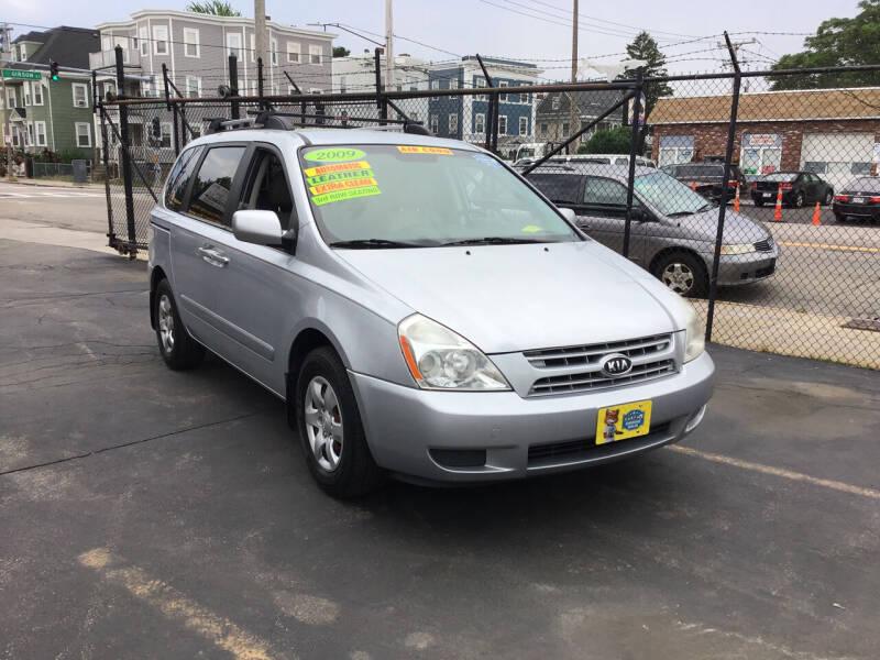 2009 Kia Sedona for sale at Adams Street Motor Company LLC in Dorchester MA