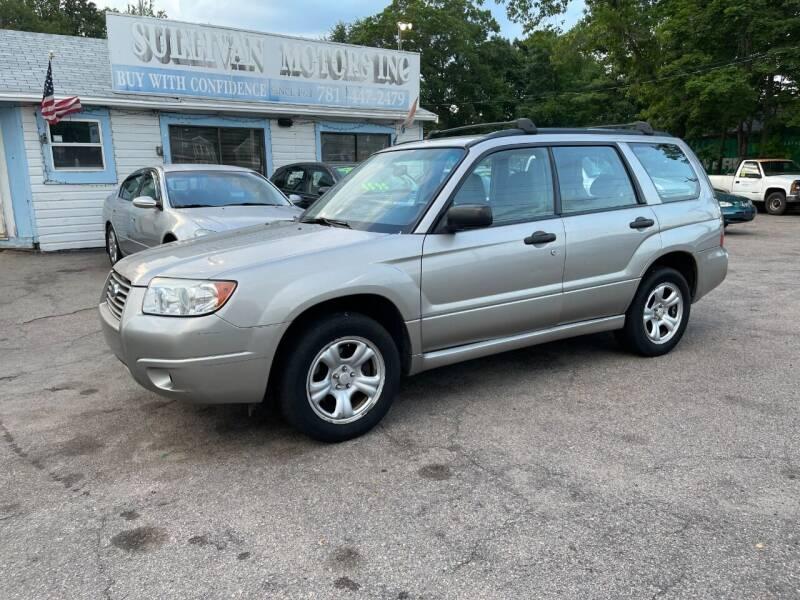 2007 Subaru Forester for sale at Lucien Sullivan Motors INC in Whitman MA