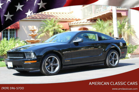 2008 Ford Mustang for sale at American Classic Cars in La Verne CA