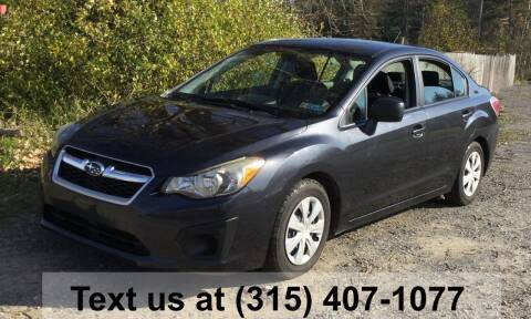 2012 Subaru Impreza for sale at Pete Kitt's Automotive Sales & Service in Camillus NY