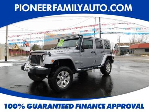 2014 Jeep Wrangler Unlimited for sale at Pioneer Family auto in Marietta OH