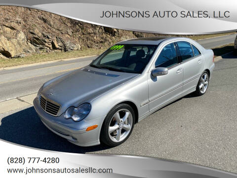 2004 Mercedes-Benz C-Class for sale at Johnsons Auto Sales, LLC in Marshall NC