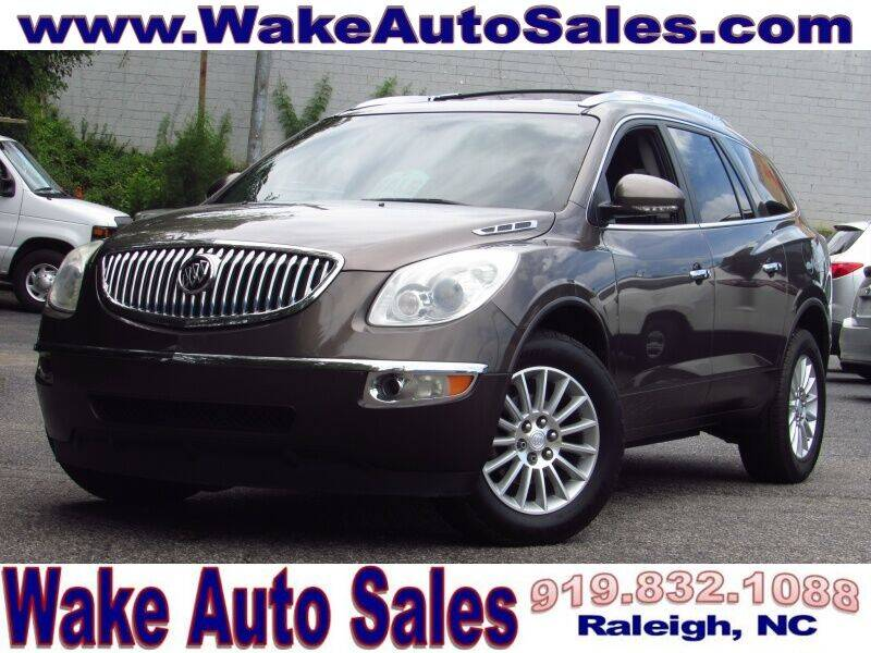 2011 Buick Enclave for sale at Wake Auto Sales Inc in Raleigh NC