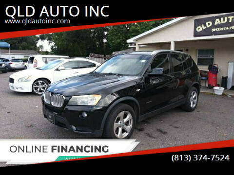 2011 BMW X3 for sale at QLD AUTO INC in Tampa FL