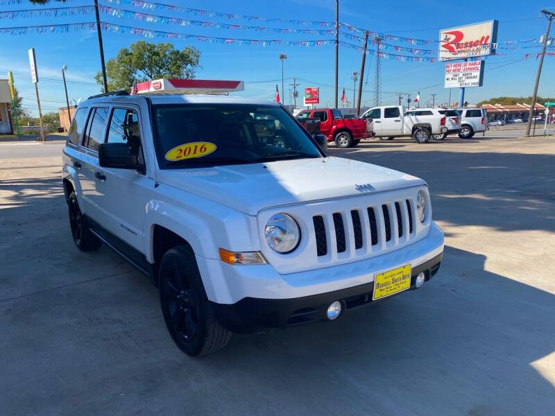2016 Jeep Patriot for sale at Russell Smith Auto in Fort Worth TX
