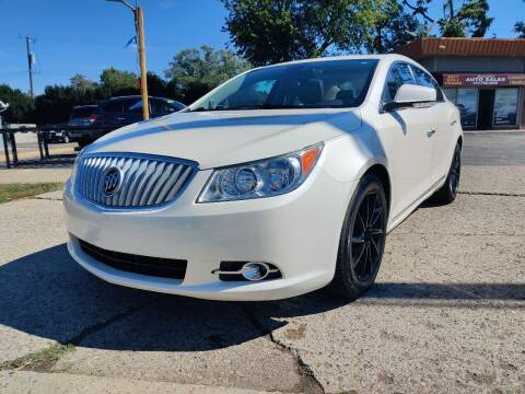 2013 Buick LaCrosse for sale at Lamarina Auto Sales in Dearborn Heights MI