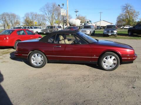 1992 Cadillac Allante for sale at D & T AUTO INC in Columbus MN