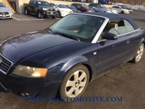 2006 Audi A4 for sale at J & M Automotive in Naugatuck CT