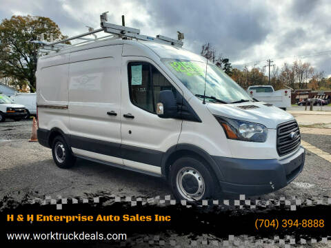 2015 Ford Transit Cargo for sale at H & H Enterprise Auto Sales Inc in Charlotte NC