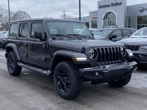 2021 Jeep Wrangler Unlimited for sale at Betten Baker Chrysler Dodge Jeep Ram in Lowell MI