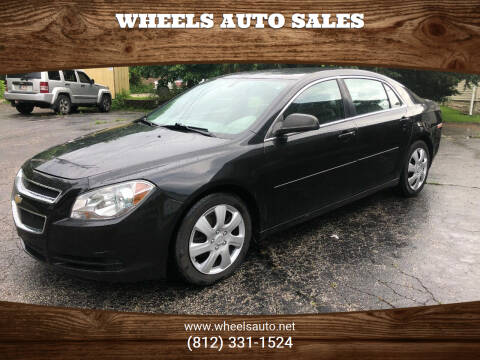 2012 Chevrolet Malibu for sale at Wheels Auto Sales in Bloomington IN