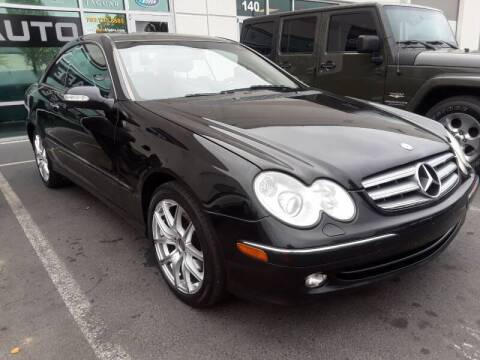 2005 Mercedes-Benz CLK for sale at M & M Auto Brokers in Chantilly VA