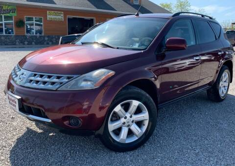 2007 Nissan Murano for sale at MARIETTA MOTORS LLC in Marietta OH